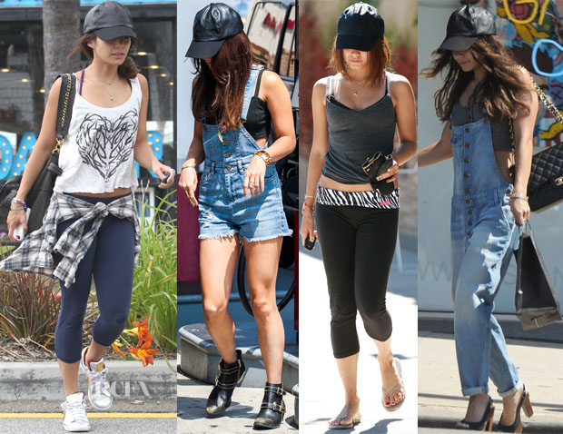Vanessa Hudgens Loves Her ASOS Leather Cap