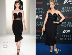 Vera Farmiga In Calvin Klein - 'Bates Motel' Party