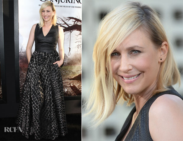 Vera Farmiga In Viktor & Rolf  - 'The Conjuring' LA Premiere