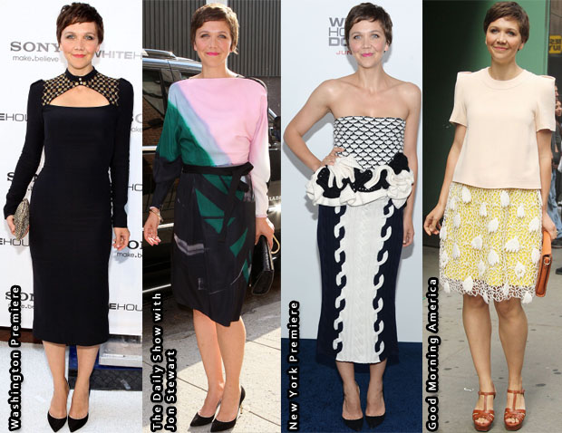 Which Was Your Favourite Maggie Gyllenhaal 'White House Down' Promo Tour Look