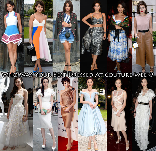 Who Was Your Best Dressed At Couture Week