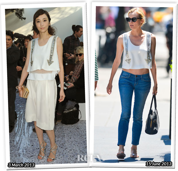 Who Wore Chloe Better Pace Wu or Diane Kruger