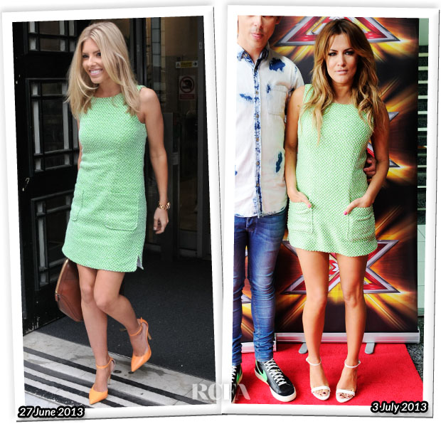 Who Wore Jaeger Better Mollie King or Caroline Flack