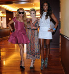 Paulina Rubio In Zac Posen, Demi Lovato In Isabel Marant & Kelly Rowland In Wayne X Factor LA Auditions
