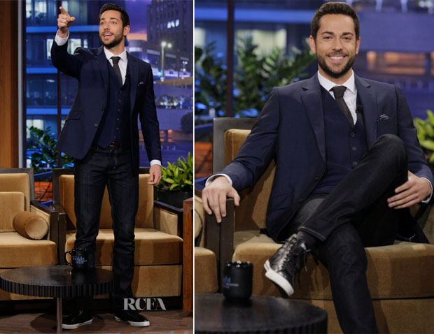 Zachery Levi In Reiss - The Tonight Show with Jay Leno