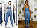 Zoe Saldana In Balmain - 'Guardians of the Galaxy' Press Line: Comic Con 2013