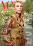 Claire Danes for Vogue US August 2013