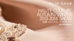 Elie Saab Fall 2013 Couture Live Stream