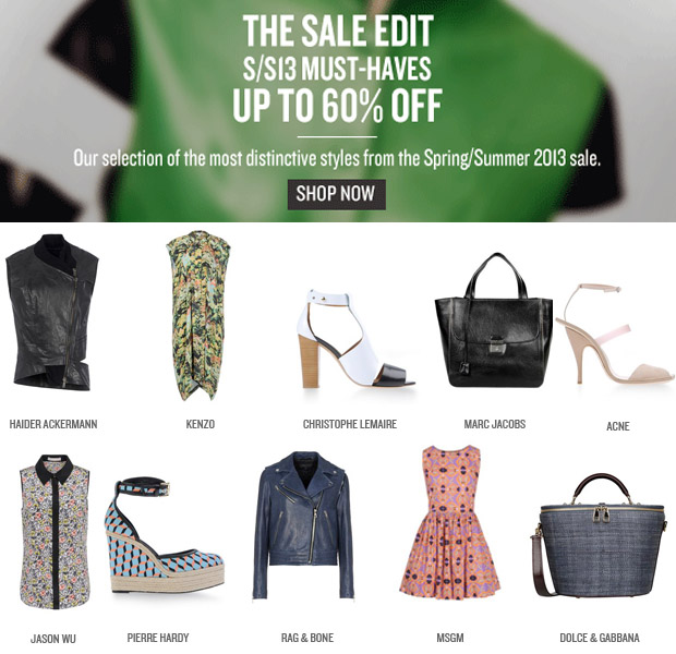 theCorner Sale