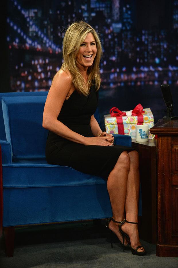 Jennifer Aniston Visit Quot Late Night With Jimmy Fallon