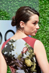 Crystal Reed in Carolina Herrera