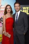 Olivia Wilde in Osman and Jason Sudeikis in Dior Homme