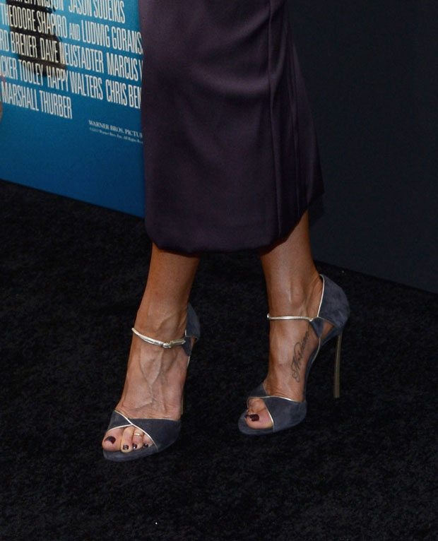 Jennifer Aniston's Casadei shoes