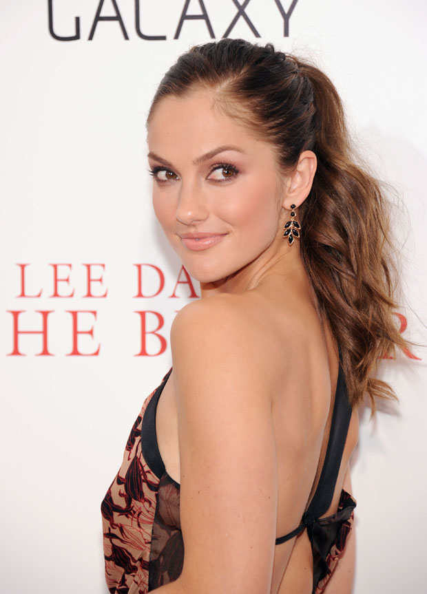 Minka Kelly in Sophie Theallet