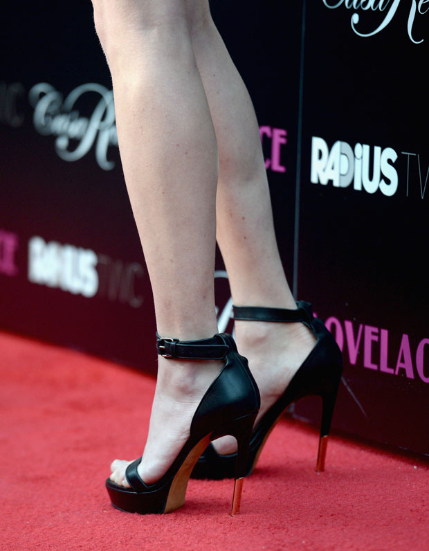 Amanda Seyfried's Givenchy sandals