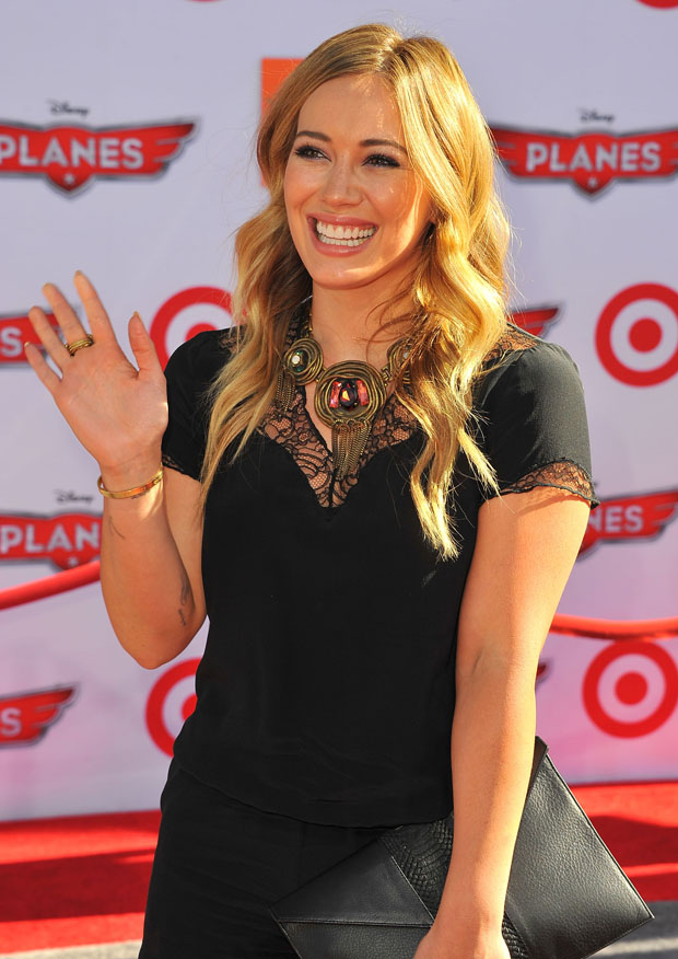 Hilary Duff in Maje