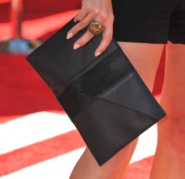 Hilary Duff's Donatienne 'Megan' clutch
