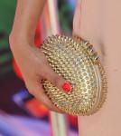 Priyanka Chopra's Christian Louboutin studded 'Mina' clutch