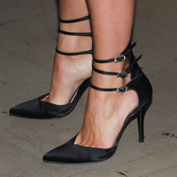 Julianna Hough's Stuart Weitzman 'Privacy' pumps