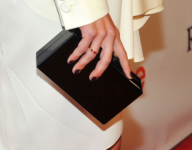 Julianne Hough's Edie Parker clutch