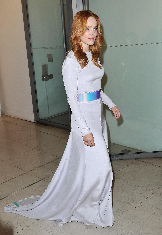 Rachel Mcadams About Time World Premiere Red Carpet Fashion Awards