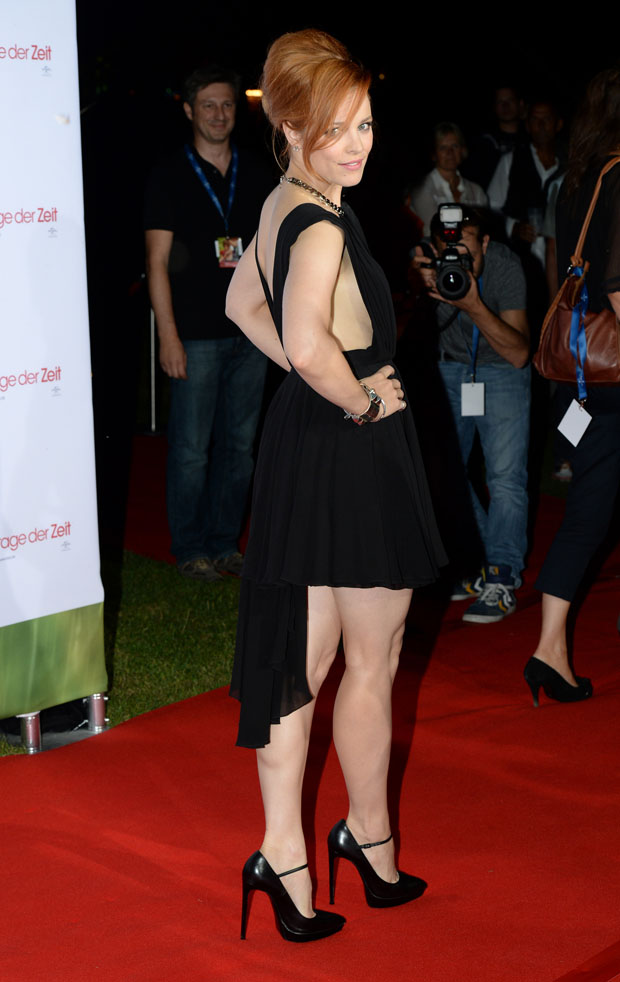 Rachel McAdams in Saint Laurent