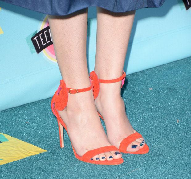 Hailee Steinfeld's Oscar Tiye 'Malikah' sandals