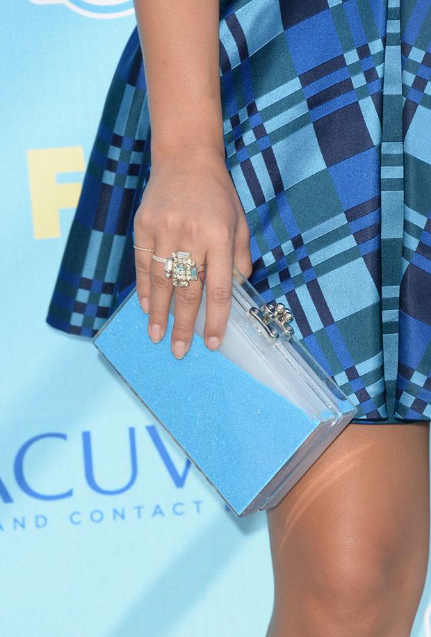 Jenna Ushkowitz's Ashlyn'D clutch