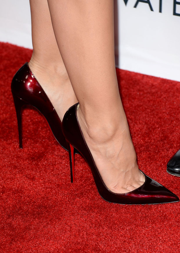 Minka Kelly's Christian Louboutin pumps