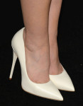 Lily Collins' Giuseppe Zanotti pumps