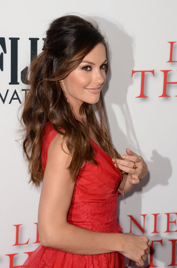 Minka Kelly in Dolce & Gabbana