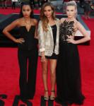 Leigh-Anne Pinnock In AQ/AQ, Jade Thirlwall In Topshop & Perrie Edwards In Patricia Bonaldi - 'One Direction: This Is Us' World Premiere
