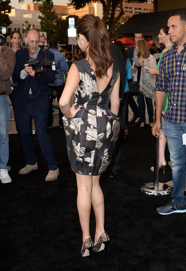 Selena Gomez in Vera Wang