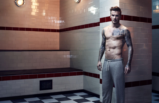 H&M David Beckham Autumn 2013 campaign