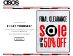 ASOS Final Clearance: Get up to 50% off