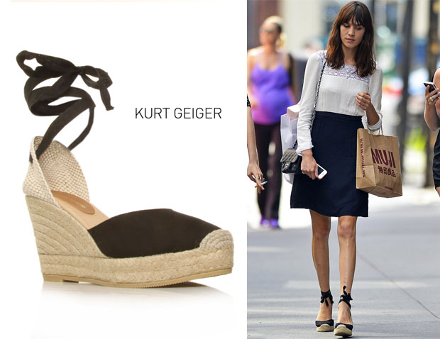 Alexa Chung's Kurt Geiger London Lara Wedges