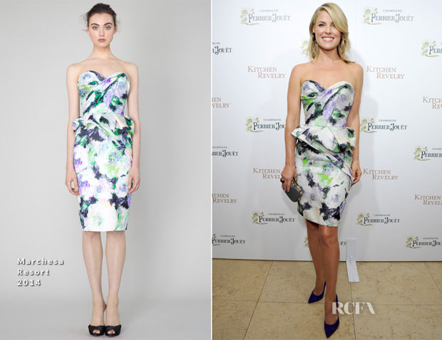 Ali Larter In Marchesa - 'Kitchen Revelry' Cookbook Release Party