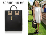 Alice Eve's Sophie Hulme Leather Tote