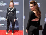 Alyssa Milano In Stella McCartney - 2013 Young Hollywood  Awards