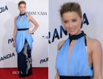 Amber Heard In Vionnet - 'Paranoia' LA Premiere