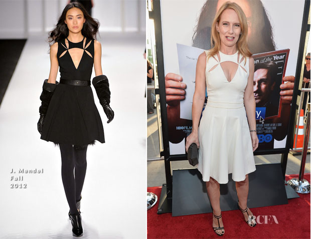 Amy Ryan In J Mendel - 'Clear History' LA Premiere