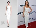 Angela Sarafyan In Donna Karan - 'Paranoia' LA Premiere