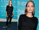 Angelina Jolie In Saint Laurent - Disney's D23 Expo - 'Let the Adventures Begin: Live Action at The Walt Disney Studios' Presentation