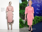 Anne Heche In Bottega Veneta - Oceana's 6th Annual SeaChange Summer Party