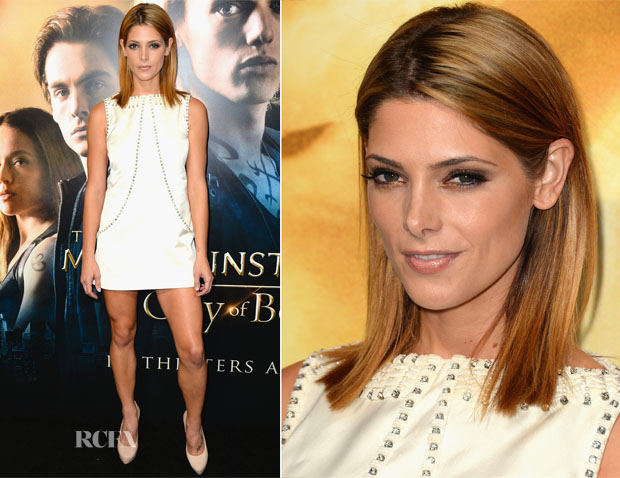 Ashley Greene In Temperley London - 'The Mortal Instruments City of Bones' LA Premiere