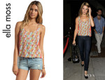 Ashley Greene's Ella Moss 'Tiki' Tank