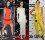 Best Dressed Of The Week - Zhang Ziyi in Vionnet, Lily Collins in Houghton & Ashley Madekwe in Diane Von Furstenberg