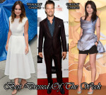 Best Dressed of The Week - Olivia Wilde In Theyskens' Theory, Kelly Chen In Dior and Josh Duhamel In Dolce & Gabbana