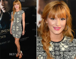 Bella Thorne In Alexander McQueen - 'The Mortal Instruments: City of Bones' LA Premiere