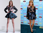 Bella Thorne In  Fausto Puglisi - 2013 Teen Choice Awards
